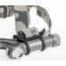 Zebralight H603 закрепленный в держателе из силикона