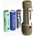 Zebralight SC52 использует пальчиковые батарейки и аккумуляторы