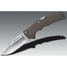 Универсальный складной нож Cold Steel Code 4 Clip Point с прямой заточкой