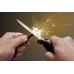 Пример добывания огня при помощи ножа Cold Steel Survival EDGE