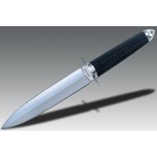 Надежный нож Cold Steel TAI PAN с обоюдоострым клинком в стиле настоящего кинжала