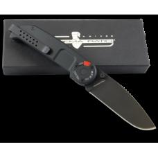 Полноразмерный нож полиции в черном оформлении Extrema Ratio BF2 CD