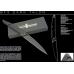 Нож для самообороны в черном цвете