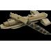 Нож итальянских десантников в пустынном камуфляже