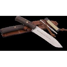 Нож профессионального охотника Extrema Ratio Dobermann IV Afriсa с ножнами и устройством для заточки клинка