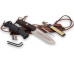 Сменная рукоять, шип и инструмент для заточки в комплекте ножа Extrema Ratio Dobermann IV S Afriсa