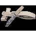 Компактный вариант пехотного ножа в пустынном камуфляже Extrema Ratio Fulcrum S