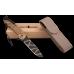 Складной нож с надежным клинком и замком
