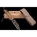 Складной нож с надежным клинком танто и замком