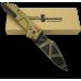 Пустынный вариант складного ножа с индикатором раскрытия Extrema Ratio MF1