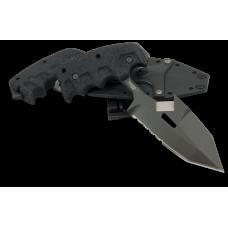 Универсальный нож Extrema Ratio S.E.R.E. 1 тычкового типа с ножнами в черном цвете