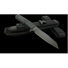 Универсальный полевой нож Extrema Ratio Task для повседневной работы в черном цвете с ножнами