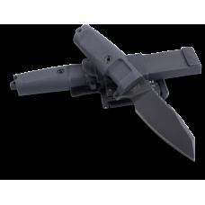 Компактный вариант полевого ножа для ежедневного использования Extrema Ratio Task C в черном цвете и ножнами