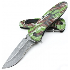 Туристический складной нож Ganzo G622-CA2-4S