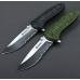 Туристический нож Ganzo G622-G-5S с прямым клинком и заточкой