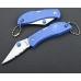 Нож с голубой рукоятью Ganzo G623S