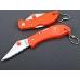 Нож с оранжевой рукоятью Ganzo G623S