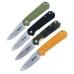 Четыре варианта расцветки рукояти ножа Ganzo G6801