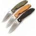 Варианты цвета рукояти ножей Ganzo G7321