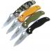 Различные варианты оформления рукоятей ножа Ganzo G733