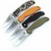 Различные варианты оформления рукоятей ножа Ganzo G734