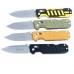 Различные варианты оформления рукоятей ножа Ganzo G735