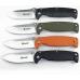 Нож Ganzo G742-1 в разных вариантах цвета рукояти