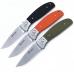 Зеленая рукоять складного ножа Ganzo G7482