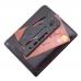 Миниатюрные размеры карманного ножа Sog Access Card 2.0 Black