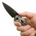 Ножик Sog Aegis Digi Camo в руке пользователя