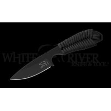 Нож с фиксированным клинком Backpacker с черной рукоятью и клинком