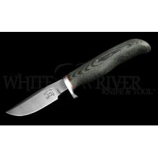 Нож White River Black Micarta Clip Point с фиксированным клинком