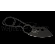 Нашейный нож для EDC с клинком черного цвета White River KNUCKLEHEAD BLACK IONBOND COATED