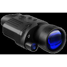 Цифровой монокуляр ночного видения Pulsar Recon 870 в черном корпусе из пластика