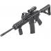 Магнифер Sightmark 3x Tactical Magnifier установленный на оружии
