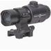 Удобное надежное крепление магнифера Sightmark 3x Tactical Magnifier Pro