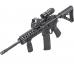 Магнифер Sightmark 5x Tactical Magnifier установленный на оружии