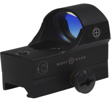 Коллиматорный прицел Sightmark Core Shot Pro Spec в черном металлическом корпусе