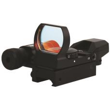 Коллиматорный прицел Sightmark Laser Dual Shot Dove Tail с лазерным целеуказателем