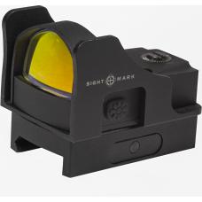 Коллиматорный прицел Sightmark Mini Shot Pro Spec wRiser с красной или зеленой сеткой прицеливания
