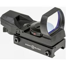 Коллиматрный прицел открытого типа Sightmark Sure Shot Reflex Sight Black для универсального использования