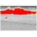 Выделение красным цветом горячих участков цели