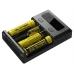 Универсальное зарядное устройство Nitecore New I4 способно заряжать основные типы существующих аккумуляторов