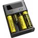 Информативный дисплей зарядного устройства Nitecore New I4