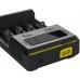 Качественно изготовленный вход электрического питнаня зарядного устройства Nitecore New I4