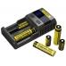 Возможность заряжать аккумуляторы многих типов и емкостей в зарядном устройстве Nitecore SC2