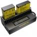 Аккумуляторы в зарядном устройстве Nitecore UGP4