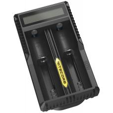 Двухканальное USB зарядное устройство Nitecore UM20