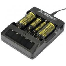 Интеллектуальное зарядное устройство на четыре аккумулятора