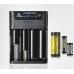 Широкий ассортимент поддерживаемых аккумуляторова зарядного устройства Xtar XP4